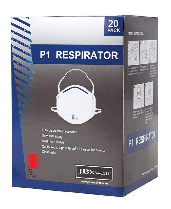 JB Wear Respirator Box