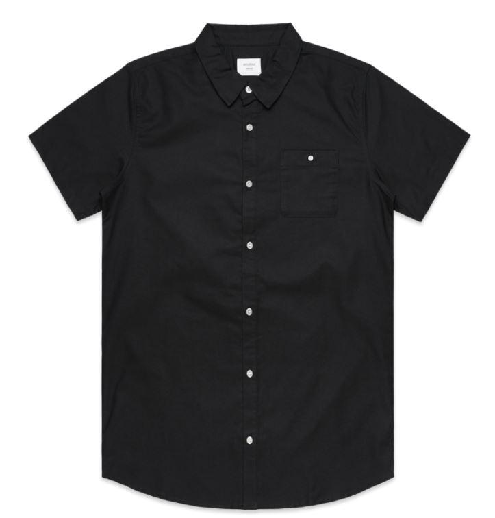 AS Colour Short Sleeve Shirt Black