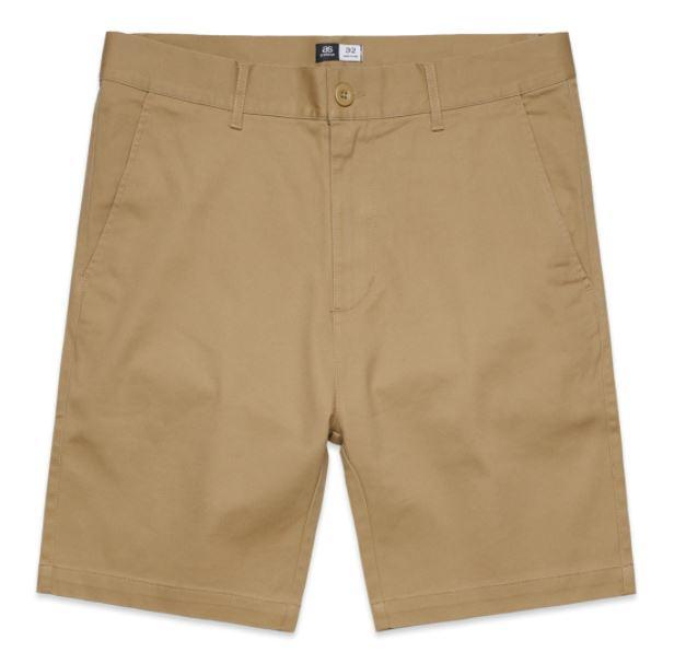 AS Colour Mens Plain Tan Shorts