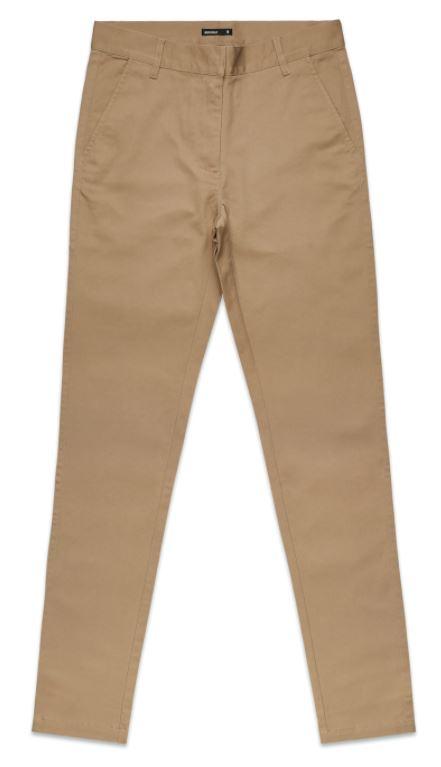 AS Colour Womens Khaki Standard Pants
