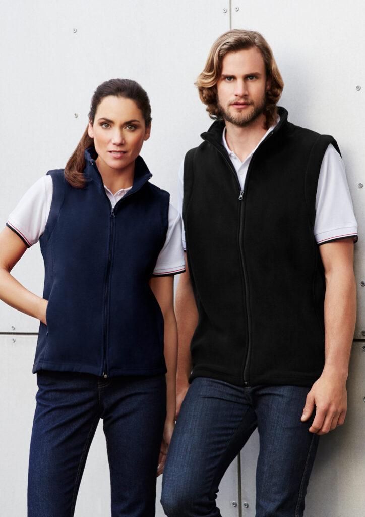 Biz Collection Zip Fleece Vest