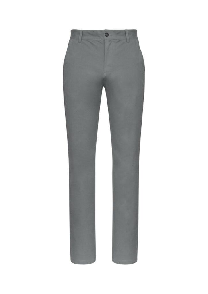 Biz Collection Mens Chino Pants Grey