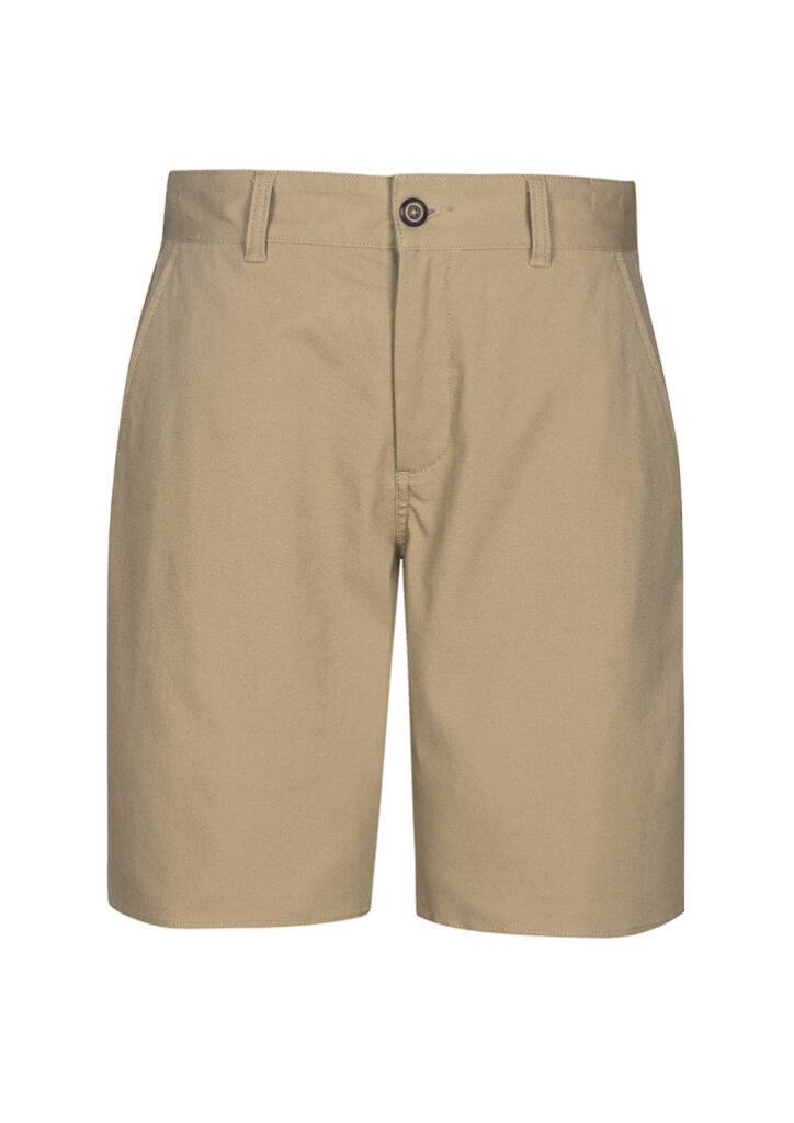 Biz Collection Mens Tan Chino Shorts