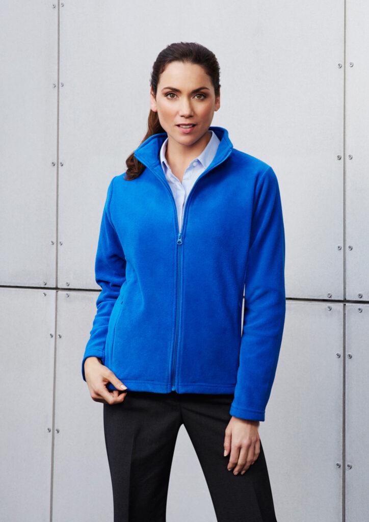 Biz Collection Ladies Plain Micro Fleece Jacket