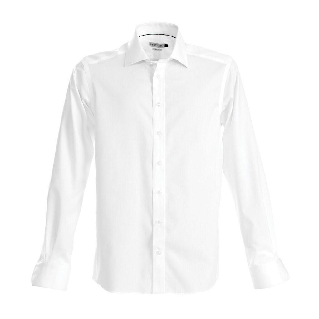 Legend Life White Unisex Business Shirt