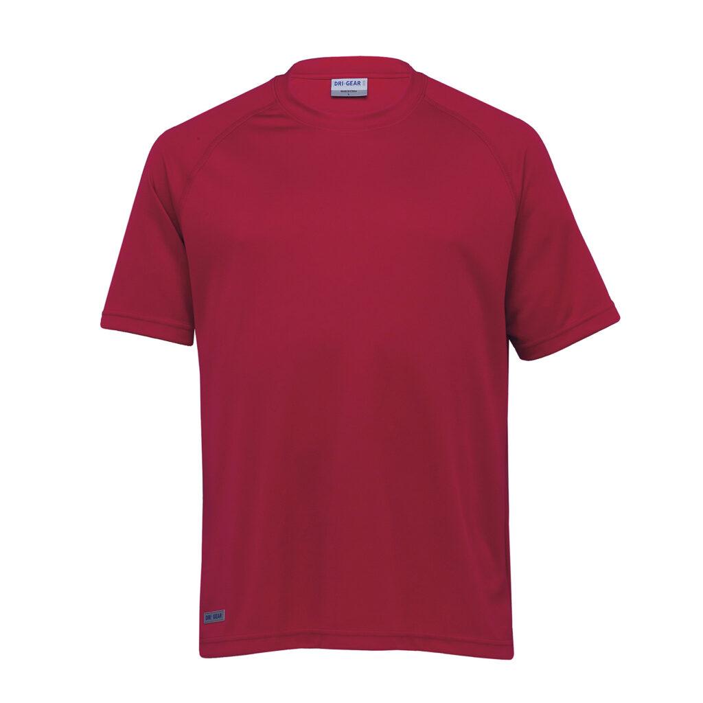 thecatalogue-dri-gear-plain-raglan-tee-red