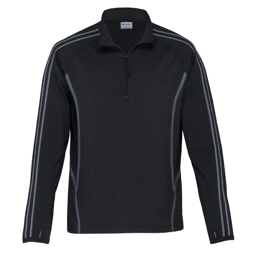 The Catalogue Reflex Zip Pullover Fleece